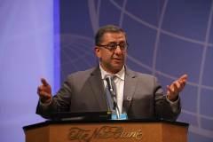 6月9日のパネルディカッションにて、モハメッド・アブ-ニマー/KAICIID上級顧問 | Mohammed Abu-Nimer, Senior Advisor, King Abdullah bin Abdulaziz International Centre for Interreligious and Intercultural Dialogue (KAICIID) at Panel Discussion on June 9th
